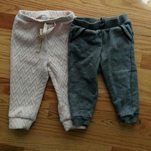 Pair of GAP girls sweats